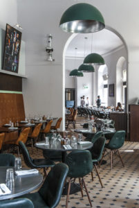 Interior photography for the restaurant at the Royal Albert Hall