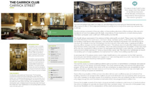 Interior photography for the Garrick Club London