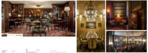 Interior photography for the Garrick Club London   David Chatfield Photography