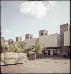 London photographer architecture | the Barbican Theatre | David Chatfield Photography